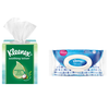 Save $1.00 on any FOUR (4) boxes/packs of Kleenex® Facial Tissue or Wet Wipes 20...