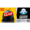 Save $2.50 on Glad Large Trash Bags when you buy ONE (1) Glad Large Trash Bags (34 ct...