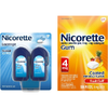 Save $10.00 on Nicorette when you buy ONE (1) Nicorette product (72ct. or larger) or...