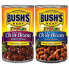 Save $0.55 on any TWO (2) BUSH'S® Chili Beans 15-27oz, any variety