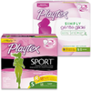 Save $0.75 on Playtex® Simply Gentle Glide® or Sport® Tampons when you bu...