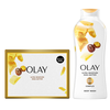 Save $1.00 on TWO Olay Moisture Ribbons Plus, 22 oz Body Wash OR 6 ct Beauty Bars (ex...