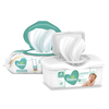 Save $0.50 on TWO Pampers Wipes 56 ct or higher (excludes trial/travel size).