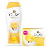 Save $1.00 Save $1.00 on TWO Olay Moisture Ribbons Plus, 22 oz Body Wash OR 6 ct Beauty Bars (excludes trial/trave...