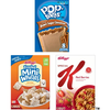 Save $1.00 on 3 Kellogg's® Cereals and Pop-Tarts® toaster pastries when y...