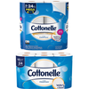 Save $0.75 on any ONE (1) Cottonelle® Toilet Paper (6 pack or larger)