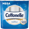 Save $0.50 on any ONE (1) Cottonelle® Toilet Paper 6 pack or larger