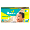 Save $3.00 on ONE BOX Pampers Swaddlers, Baby Dry OR Cruisers 360 FIT Diapers (exclud...