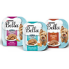 SAVE $1.75 on four (4) 3.5 oz trays of Bella® Wet Dog Food
