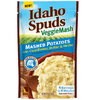 Save $1.00 on one (1) Idaho Spuds Veggie Mashed Potatoes Pouch (3.74 oz.)