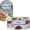 Save$1.00 on 2 PHILADELPHIA Cheesecake Cups or Pretzel/Bagel Chips & Cream Cheese...