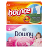 Save $2.00 on ONE Downy Liquid Fabric Conditioner 48 load or larger, Bounce OR Downy...