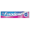 Save $1.00 on ONE Fixodent Adhesive 1.4 oz OR larger (excludes Ultra and trial/travel...