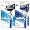 Save $1.00 on ONE Gillette3 OR Gillette5 Razor (excludes trial/travel size).