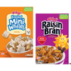Save $1.00 on 2 Kellogg's® Frosted Mini-Wheats® and/or Raisin Bran® w...