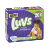 Save $1.50 on ONE Luvs Diapers (excludes trial/travel size).