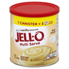 Save $0.50 on one Jell-O Pudding Canister (Vanilla or Strawberry, 18 oz.)