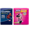 Save $1.00 on ONE (1) PULL-UPS® Training Pants or GOODNITES® Bedtime Pants or...