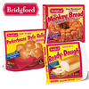 Save $0.75 on any ONE (1) package of Bridgford® Frozen Rolls or Bread Dough or Mo...
