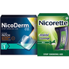 Save $10.00 on NicoDerm CQ and Nicorette when you buy ONE (1) Nicoderm (14ct or large...