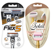 Save $3.00 Save $3.00 on ONE (1) BIC® Soleil®, Flex™, or Comfort 3® Hybrid disposable razor pack (excludes tr...