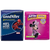 Save $1.00 on PULL-UPS® Training Pants or GOODNITES® Nighttime Pants or Bed M...