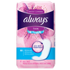 Save $0.50 on ONE Always Liners 30 ct or higher OR Always Wipes 20 ct or higher (excl...