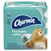 Save $0.25 on ONE Charmin Flushable Wipes Product (excludes trial/travel size).