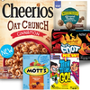 Save $0.50 on one (1) Cheerios Oat Crunch, Fruit by the Foot Sweet & Fiery, Natur...
