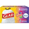 Save $1.00 on any ONE (1) Glad® OdorShield Tall Kitchen Drawstring Trash Bag, 13-...