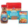 Save $1.00 on three (3) McCormick Good Morning Breakfast Items