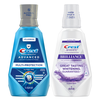Save $1.00 on ONE Crest Mouthwash 473 mL (16 oz) or larger (excludes Kids and trial/t...