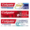 On any Colgate TotalSF, Colgate® Optic White®, Colgate® Enamel Health, Co...