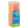Save $0.50 $.50 OFF ONE (1) SIMPLY DONE STRAWS PLASTIC COCKTAIL 170 CT