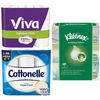 Save $2.00 on any TWO (2) Cottonelle® Toilet Paper (6 pack or larger), Viva®...