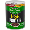 Save $1.00 Save $1.00 on three (3) 13 oz cans of Purina® Dog Chow® High Protein Wet Dog Food, any variety.