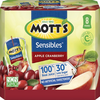 Save $0.50 on one (1) Mott's® Sensibles or 100% Juice Pouch (8 pk.)