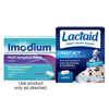 Save $1.00 on any ONE (1) IMODIUM® (excluding 6ct) or LACTAID® Supplement pro...