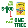Save $1.00 on two (2) Cheerios items (8.9 - 27.2 oz)