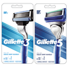 Save $1.00 on ONE Gillette3 OR Gillette5 Razor.