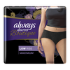 Save $3.00 on ONE Always DISCREET Black Low Rise Underwear (excludes all other Always...