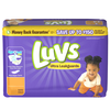 Save $1.00 on ONE Luvs Diapers (excludes trial/travel size).