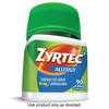 Save $10.00 when you buy ONE (1) Adult ZYRTEC® product, any variety (90ct).  Excl...