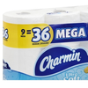 Save $2.00 on two (2) Bounty Paper Towesl (8 Giant Rl.) or Charmin Ultra Bath Tissue...
