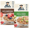 Save $1.00 on 2 Quaker® Instant Oatmeal when you buy TWO (2) boxes of Quaker®...