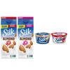 Buy any ONE (1) Silk Half Gallon, Get ONE (1) Silk Yogurt Alternative Single Serve FR...