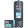 Save $0.75 on any ONE (1) Dove Men+Care Bar (4 pk. or larger) or Body Wash product (excludes trial and travel sizes).