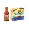 Save $1.00 on one (1) Gold Peak Tea (18.5 oz) and one (1) belVita  assorted varieties...