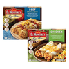 Save $1.25 on ONE (1) El Monterey Frozen Single Serve Entrée