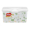 Save $0.50 on TWO (2) Huggies® Wipes packages, any variety (48 ct. or higher)...